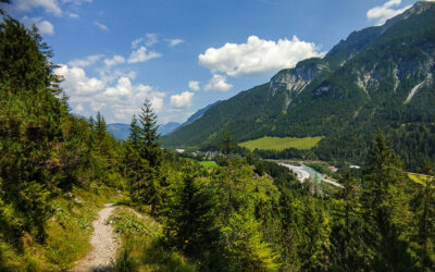 Der Lechweg Etappe 4 – Elbigenalp nach Stanzach