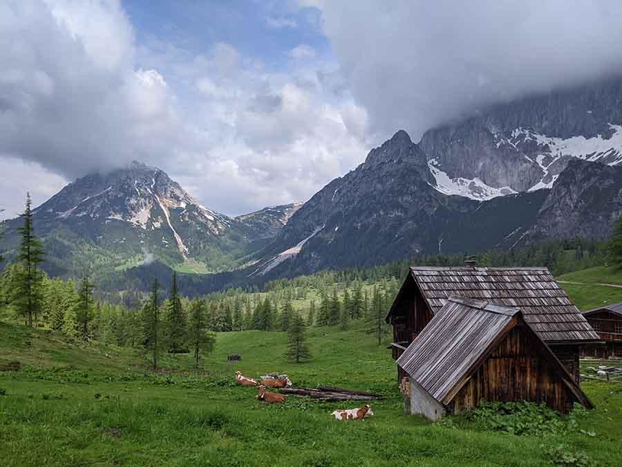 Dachstein Höhenrundweg (Teil1)